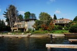 Laurelhurst waterfront homes